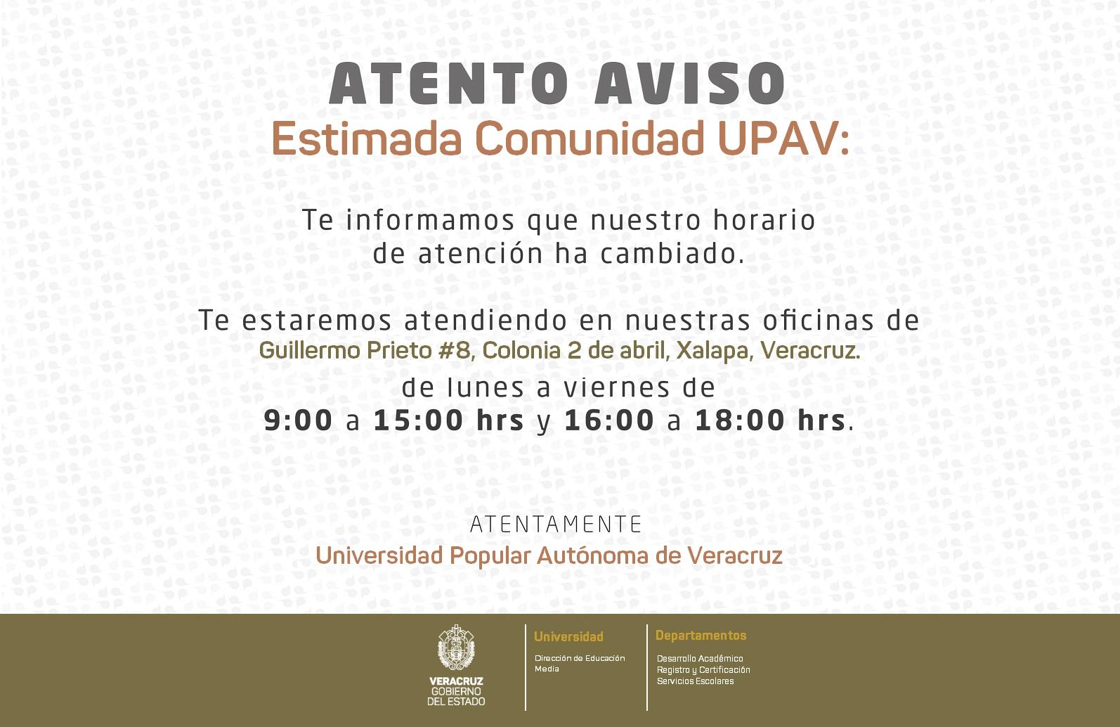 Uv Convocatoria 2019: Universidad Popular Autónoma De Veracruz De